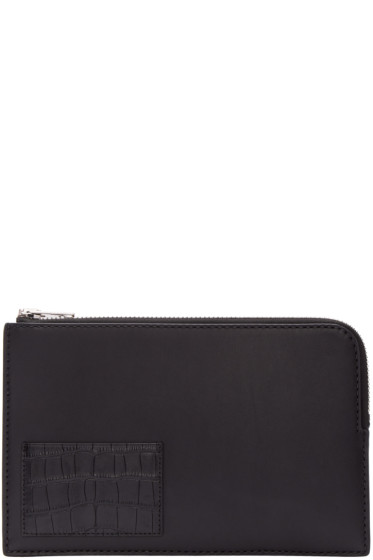 Alexander Wang - Black Leather Pouch