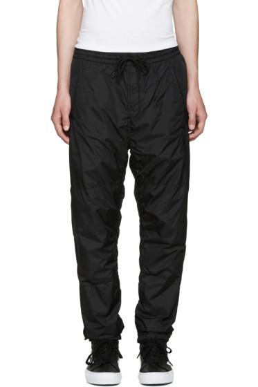 Alexander Wang - Black Embroidered Track Pants