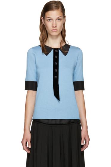 Marc Jacobs - Blue Trompe L'Oeil Sweater