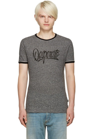 Marc Jacobs - Grey 'Desperate' T-Shirt
