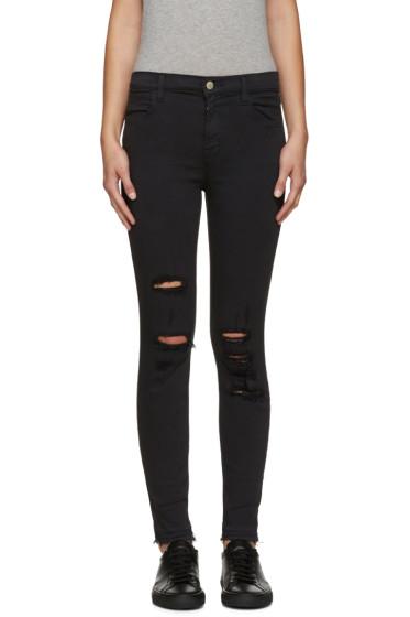 J Brand - Black High-Rise Alana Jeans