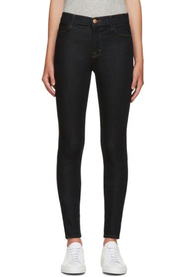 J Brand - Indigo High-Rise Maria Jeans