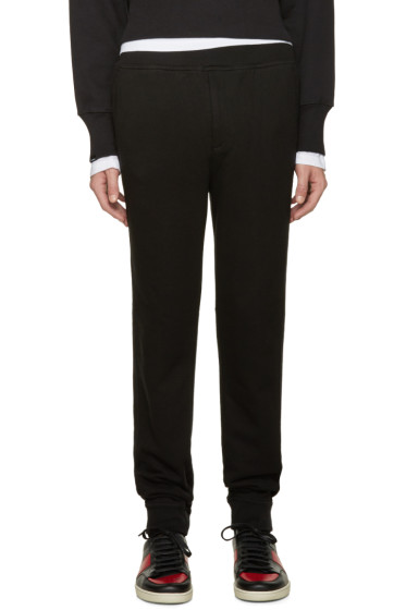 T by Alexander Wang - Black Vintage Fleece Lounge Pants