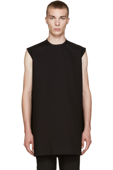Rick Owens - Black Cyclops Tunic