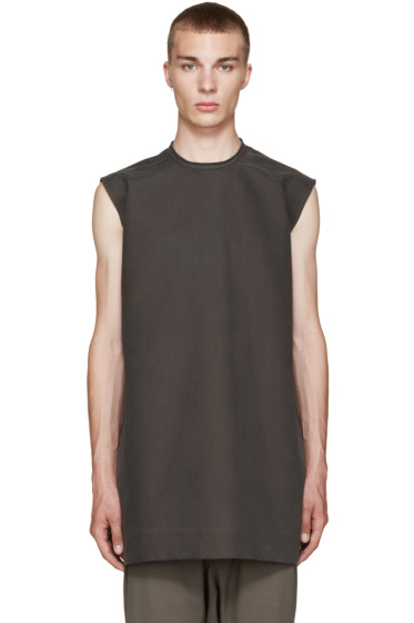 Rick Owens - Grey Cyclops Tunic
