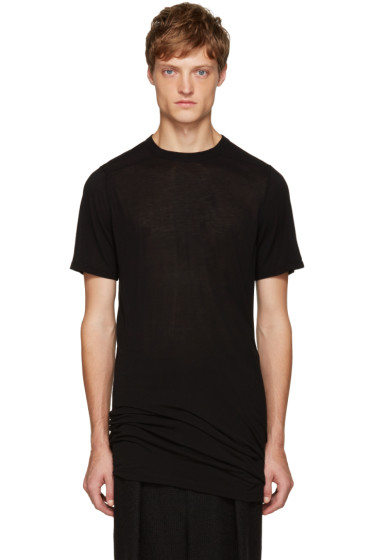 Rick Owens - Black Long T-Shirt
