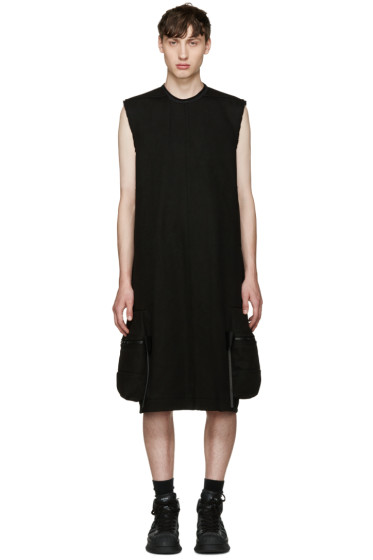 Rick Owens - Black Pannier Cargo Dress