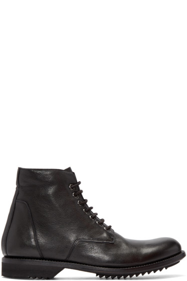 Rick Owens - Black Slim Chukka Boots