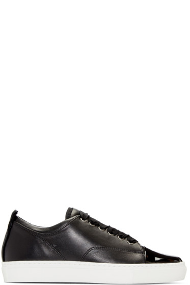 Lanvin - Black Leather Sneakers