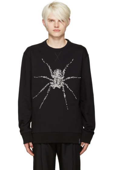 Lanvin - Black Beaded Spider Pullover