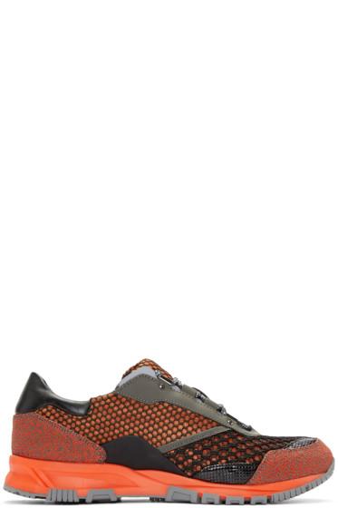 Lanvin - Orange Mix Sneakers