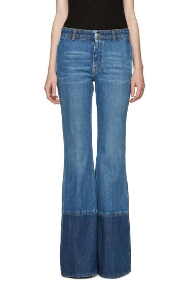 Alexander McQueen - Blue Flared Jeans