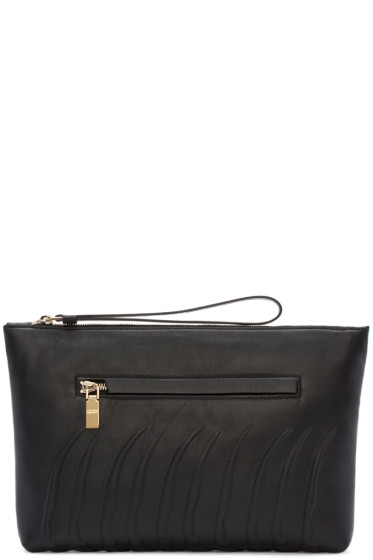 Alexander McQueen - Black Rib Cage Document Holder