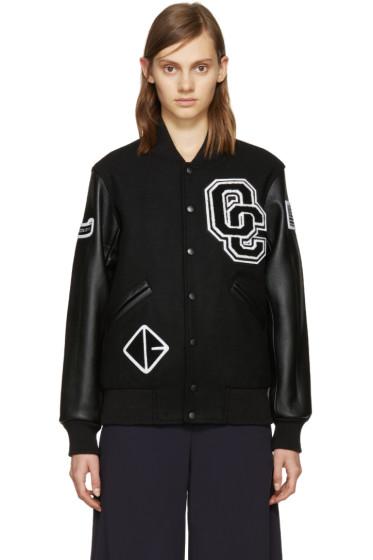 Opening Ceremony - Black Varsity Jacket