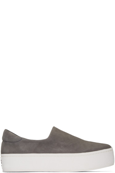 Opening Ceremony - Grey Platform Cici Sneakers