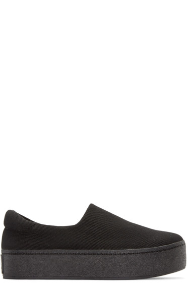 Opening Ceremony - Black Platform Cici Sneakers