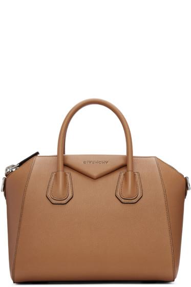 Givenchy - Tan Small Antigona Bag