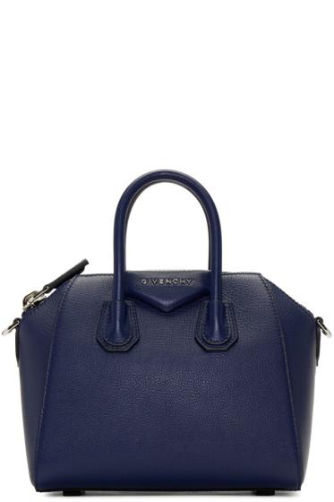 Givenchy - Blue Mini Antigona Bag