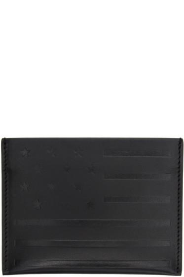 Givenchy - Black American Flag Card Holder