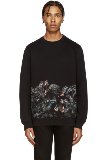 Givenchy - Black Monkey Pullover