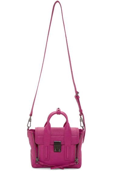 3.1 Phillip Lim - Pink Mini Pashli Satchel