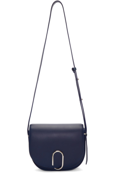 3.1 Phillip Lim - Navy Alix Saddle Bag