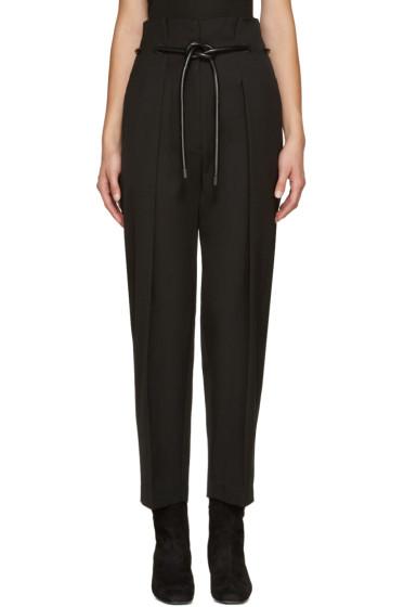 3.1 Phillip Lim - Black Origami Trousers