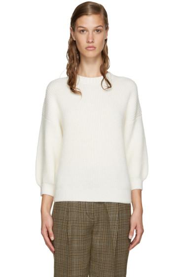 3.1 Phillip Lim - Off-White Crewneck Sweater