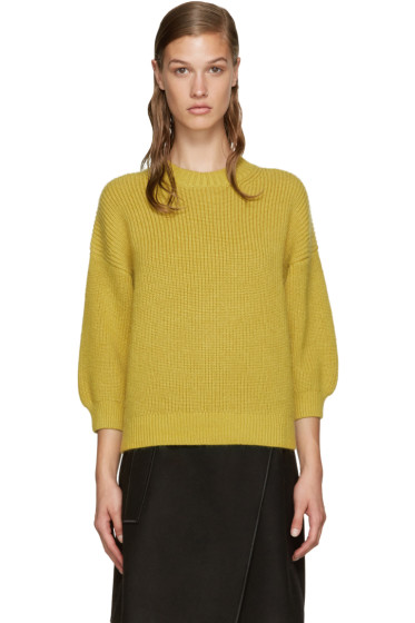 3.1 Phillip Lim - Yellow Crewneck Sweater