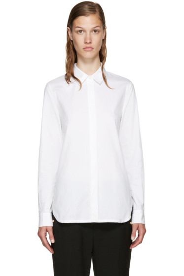 3.1 Phillip Lim - White Back Overlay Shirt