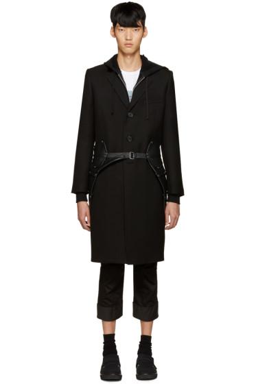 Comme des Garçons Homme Plus - Black Faux-Leather Coattails