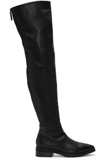 Marsèll - Black Listone Over The Knee Boots