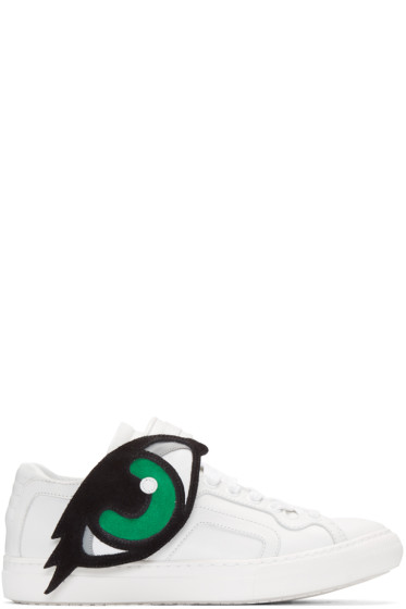 Pierre Hardy - White Oh Roy Sneakers