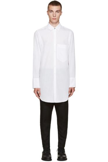 Ann Demeulemeester - White Striped Shirt
