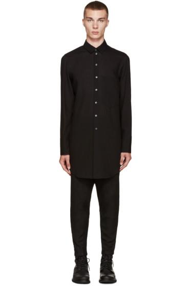 Ann Demeulemeester - Black Long Shirt