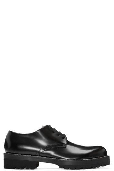 Marni - Black Leather Derbys