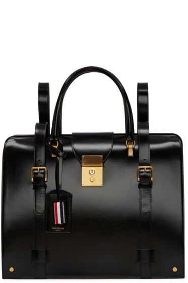 Thom Browne - Black Patent Mr. Thom Backpack