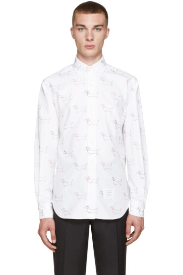 Thom Browne - White Classic Hector Shirt