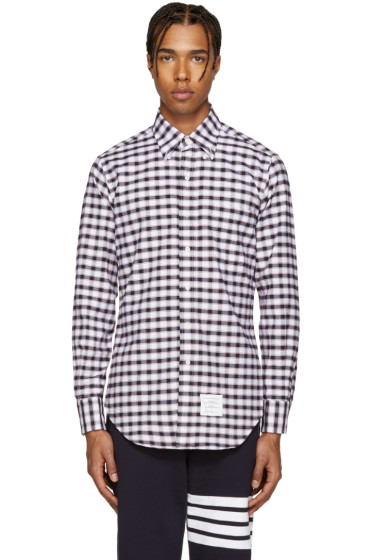 Thom Browne - Tricolor Classic Check Shirt