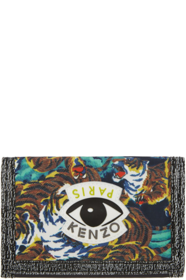 Kenzo - Multicolor Signature Prints Wallet