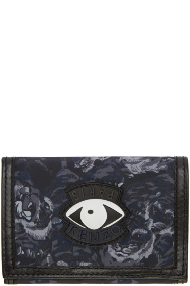 Kenzo - Navy Signature Prints Wallet