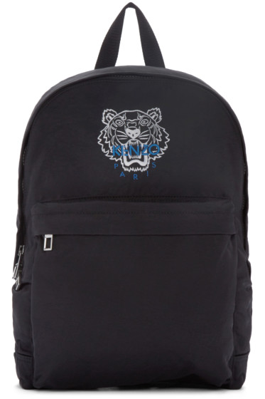 Kenzo - Black Nylon Tiger Backpack