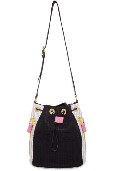 Kenzo - Black & White Kombo Bucket Bag