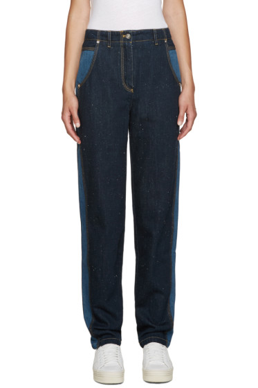 Kenzo - Blue Two-Tone Jeans