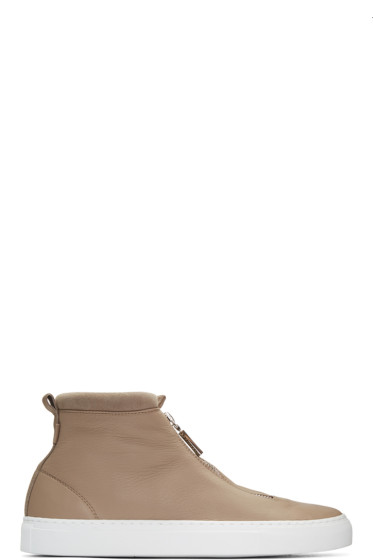 Diemme - Taupe Fontesi High-Top Sneakers