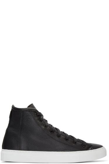 Diemme - Black Veneto Alto High-Top Sneakers