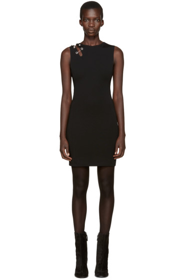 Versus - Black Shoulder Staple Dress