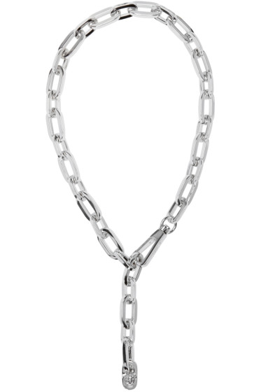 Versace - Silver Chain Necklace