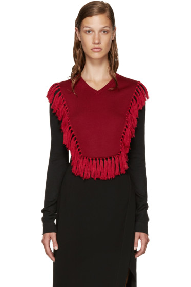 Altuzarra - Black & Red Ming Sweater