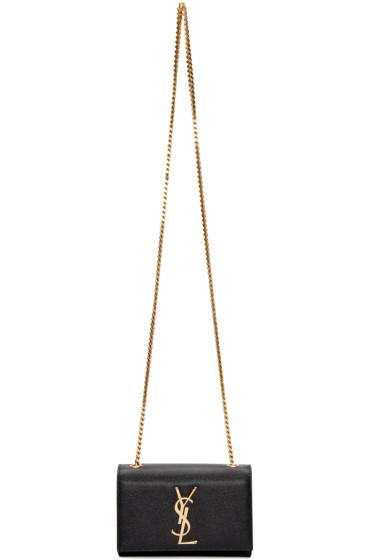 Saint Laurent - Black Small Monogram Kate Chain Bag
